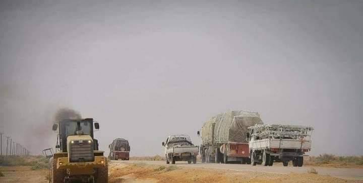 الغرفة الاقتصادية الليبية المصرية تطالب بضرورة فتح الطريق الرابط بين سرت وطرابلس